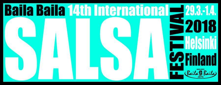 Baila Baila Salsa Festival Logo